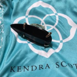 Black Kendra Scott ring